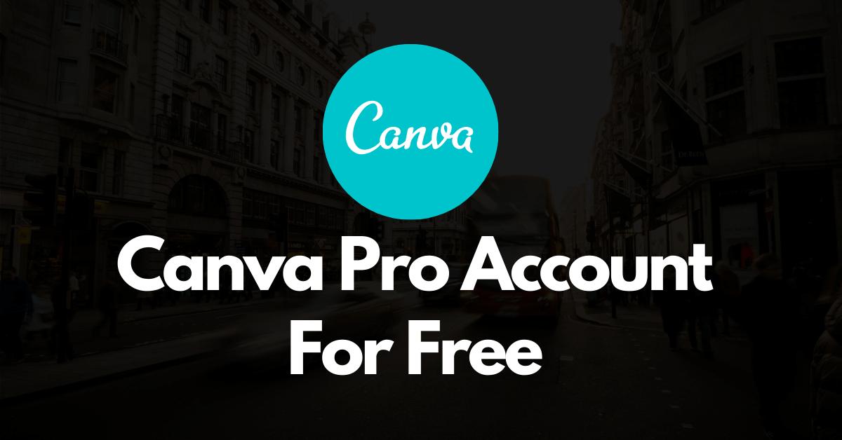 Canva Premium Account Free